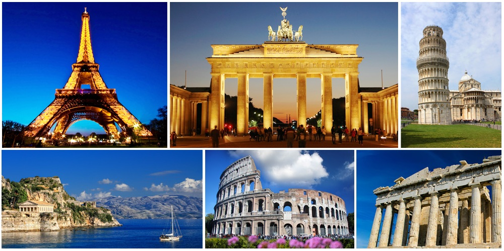 Best places to Visit in Europe 2016