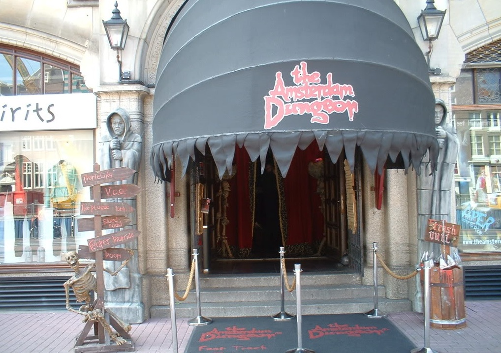 The Amsterdam Dungeon Entrance, Netherlands