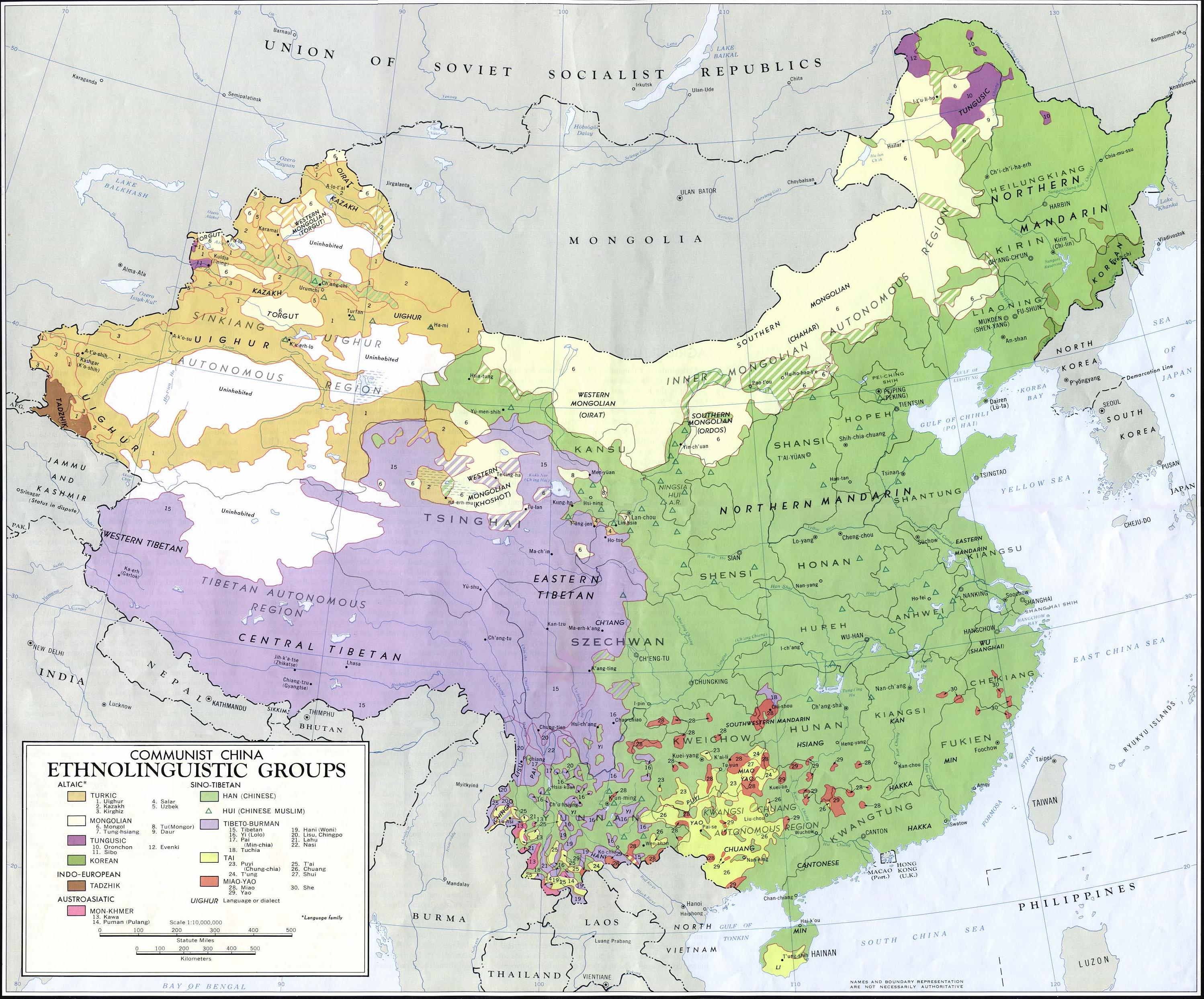 China linguistic ethnic groups map travel around the world china linguistic ethnic groups map gumiabroncs