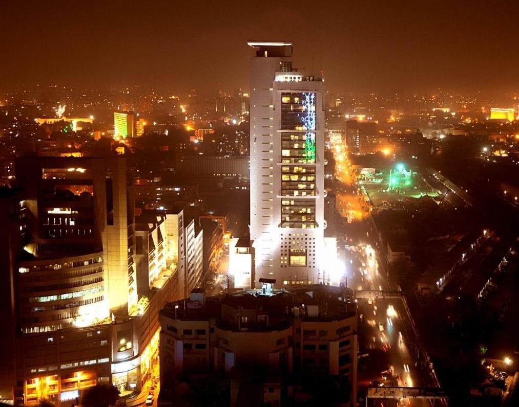 Karachi Skyline At Night Pakistan Travel Around The