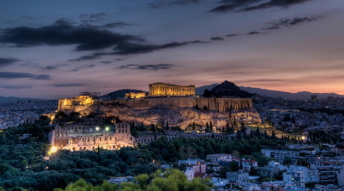 Popular Wallpaper Night Greece - Athens-Skyline-at-night-Greece-Wallpaper  2018-252175.jpg