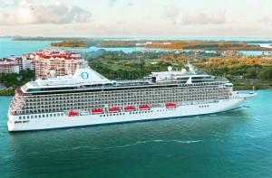 Giant cruise ship wallpaper