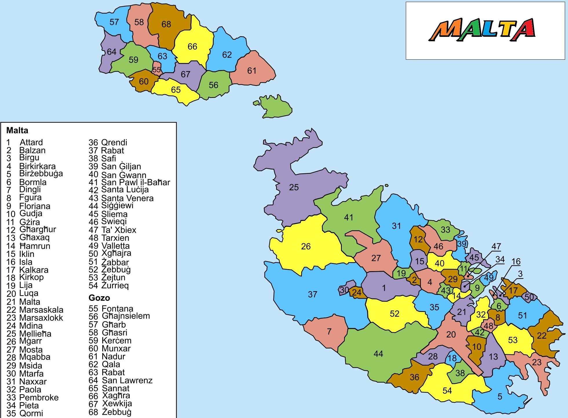 Pin Malta Map 9 Just World on Pinterest