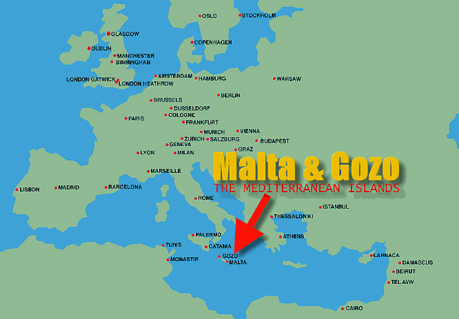 Where is Malta on world-map – Travel Around The World – Vacation Reviews