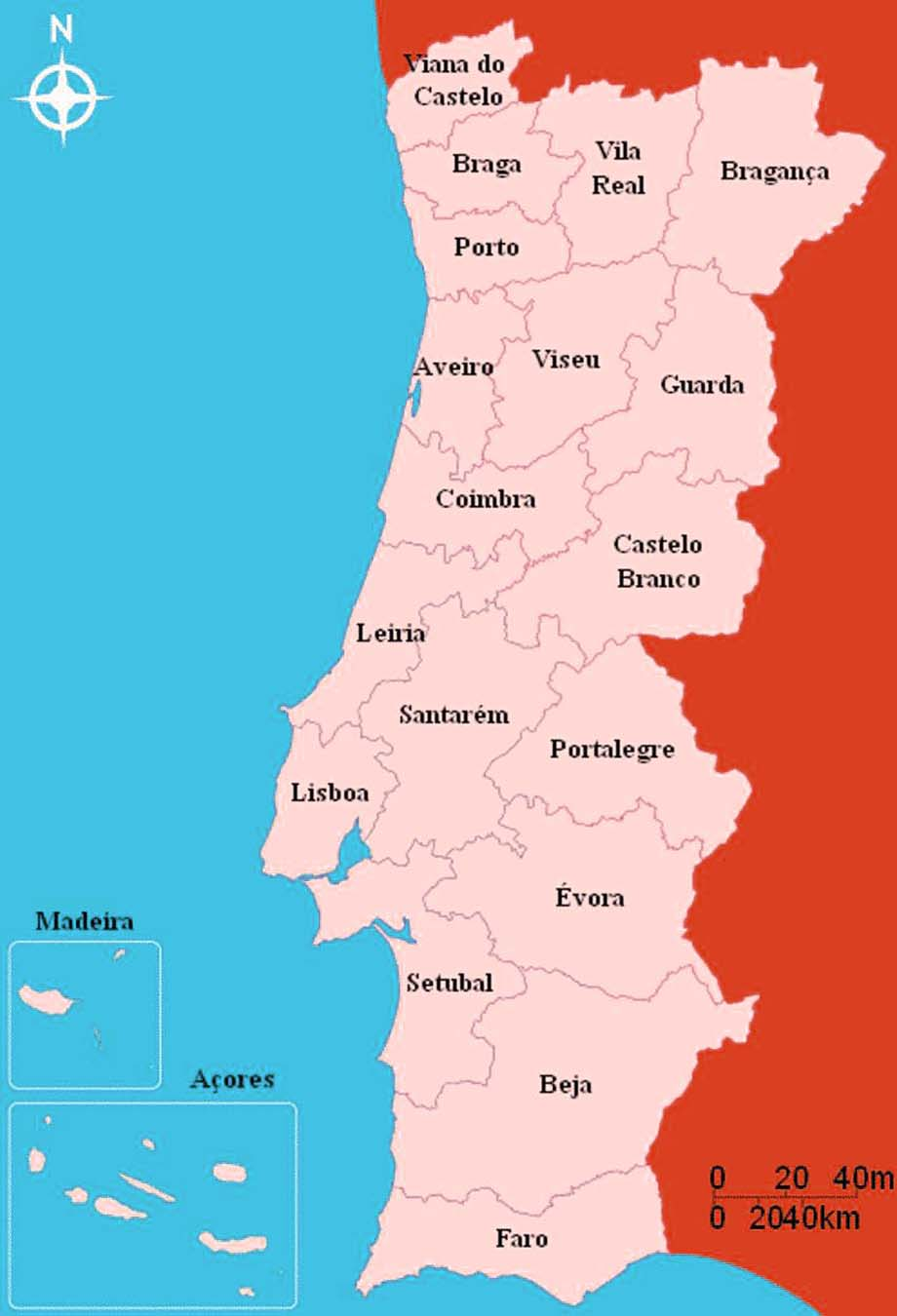 Detailed Big Size Portugal Map And Flag Travel Around The World - Portugal map sea
