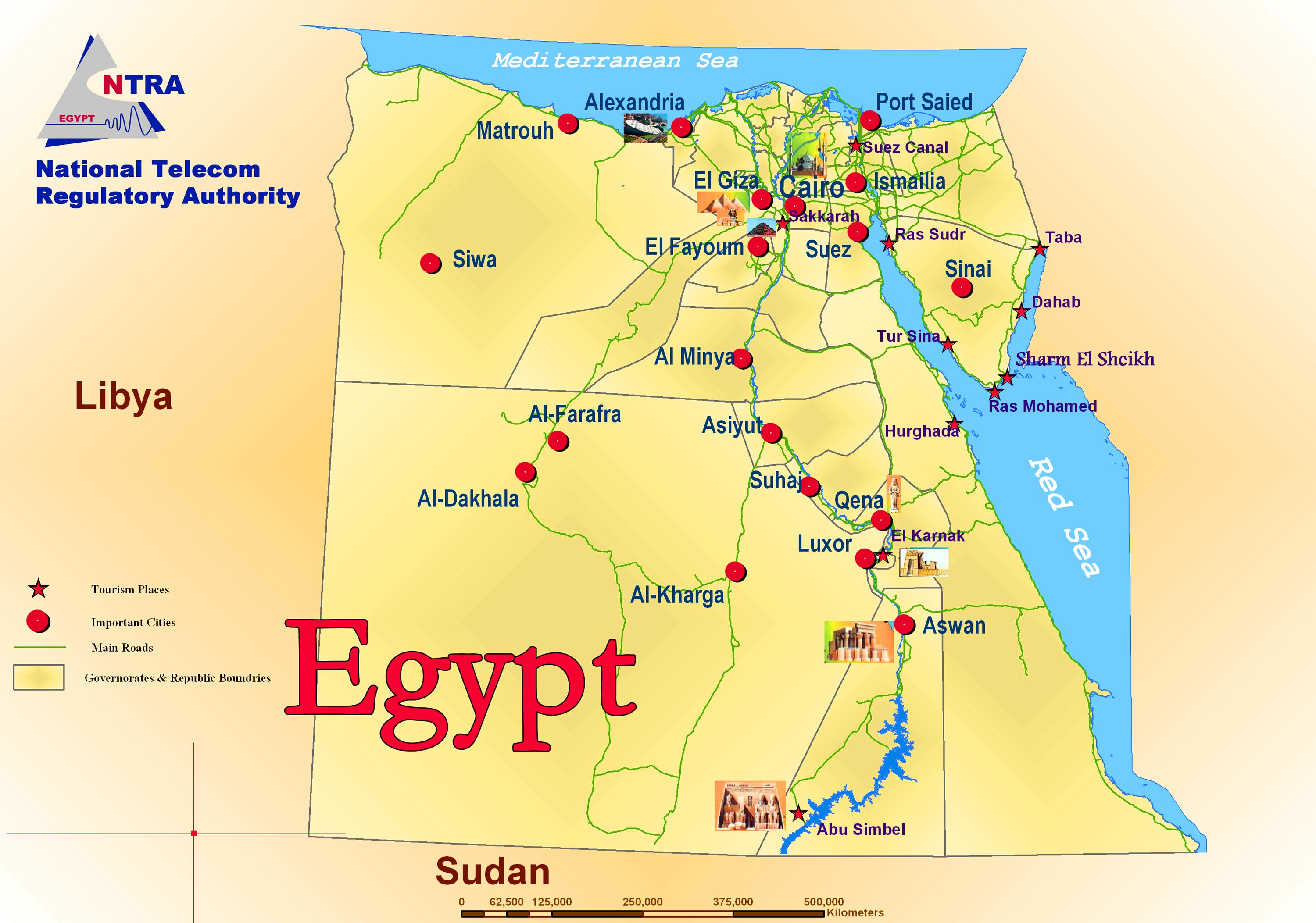 Large Size Egyptian Flag and Map for Travelers Travel Around The – Maps For Travelers