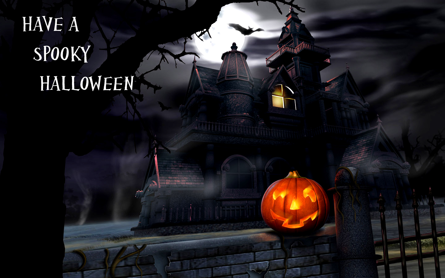 Freaky, Hot, Spooky, Sexy Halloween Greeting Cards Wallpapers – Travel Around...