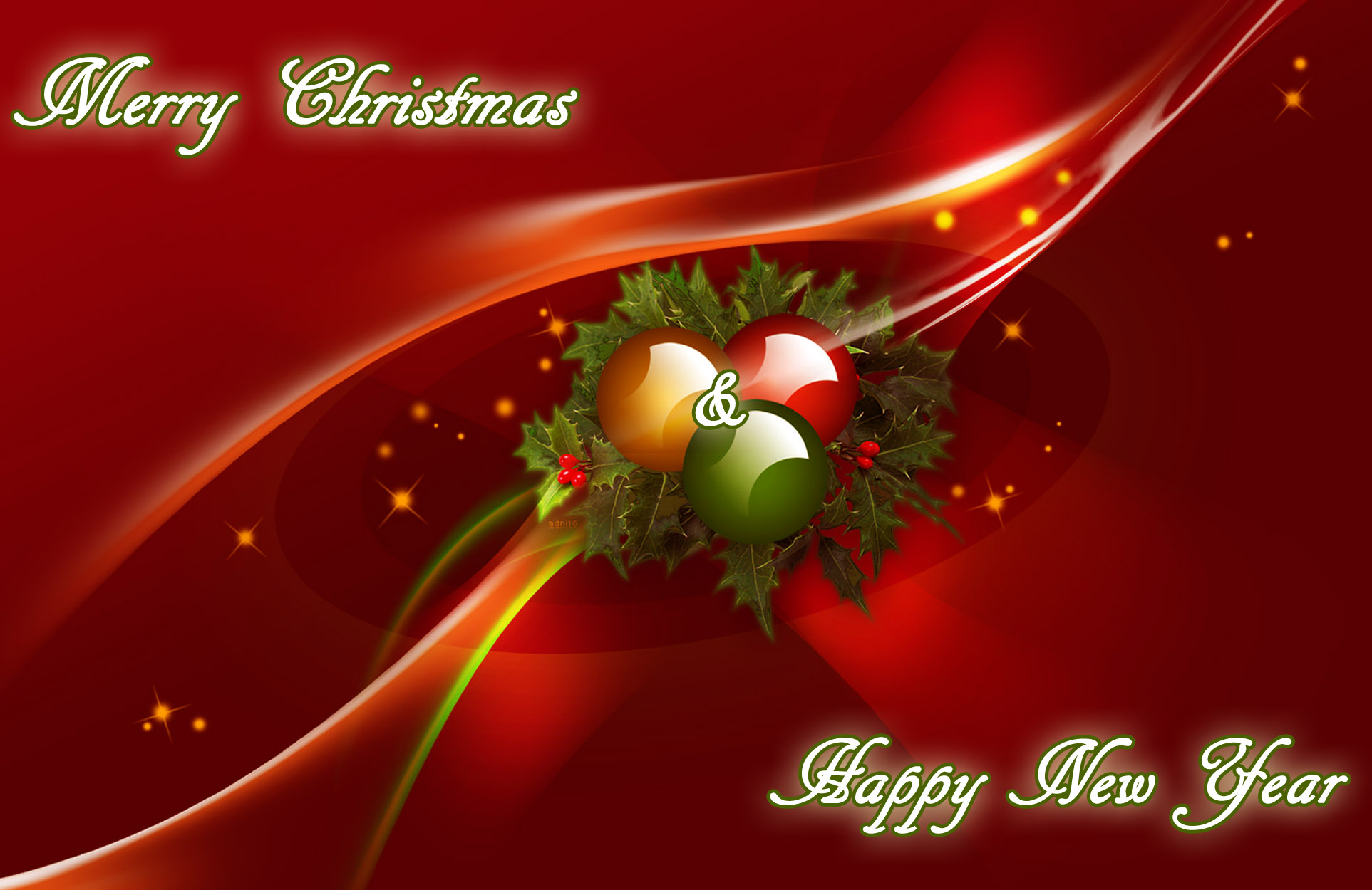 Christmas New Year Greeting Card Messages Merry Christmas And
