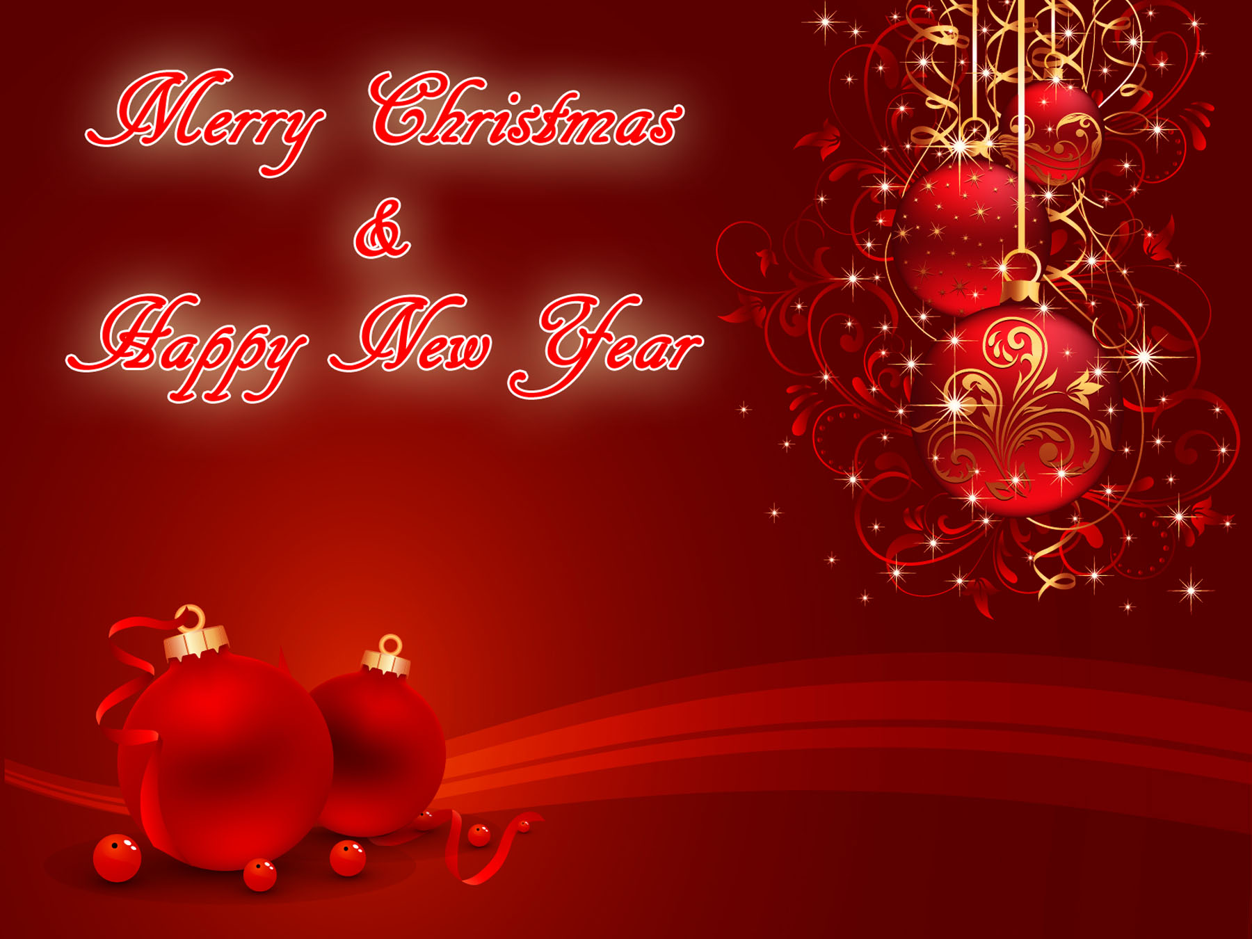 New Year 2014 Christmas 2013 Greeting Cards E Cards Wallpapers