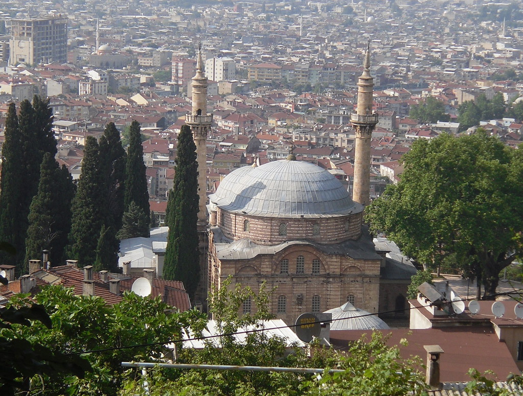 Famous places in Bursa city of Turkey; Memories of a brief visit
