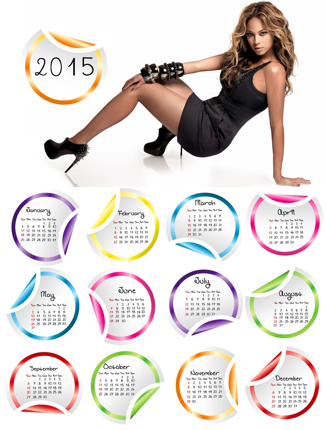 beyonce black dress wallpaper 2015 calendar