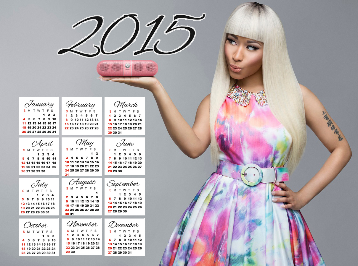 nicki minaj dress wallaper 2015 calendar