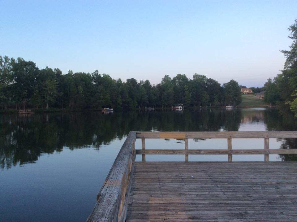 dock over lake cooley inman