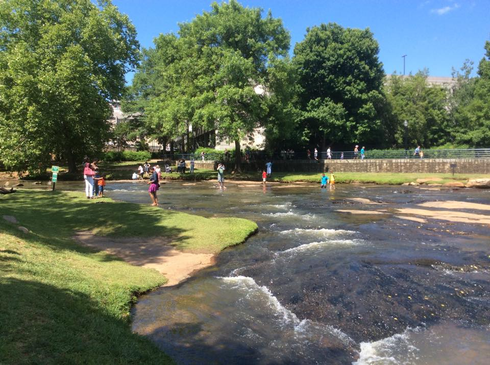 river falls park on the reedy greenville