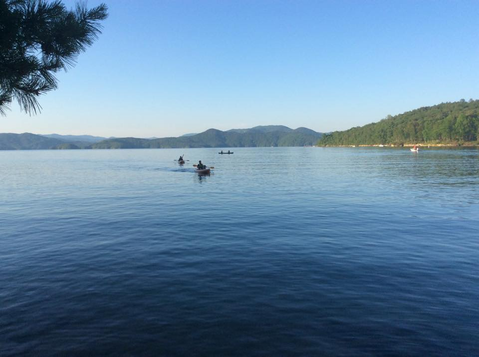 south carolina lake jocassee