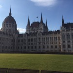 Taking a brief tour in the Hungarian capital, Budapest