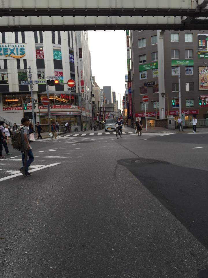 strolling the sreets of tokyo during the day