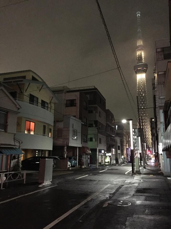 tokyo streets at night japan