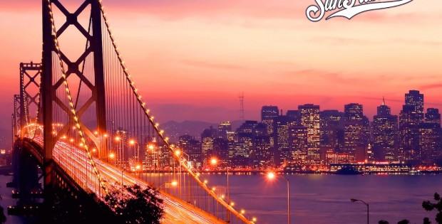 golden gate bridge san francisco night skyline wallpaper
