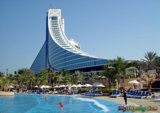 Jumeirah Beach Hotel Site Dubai