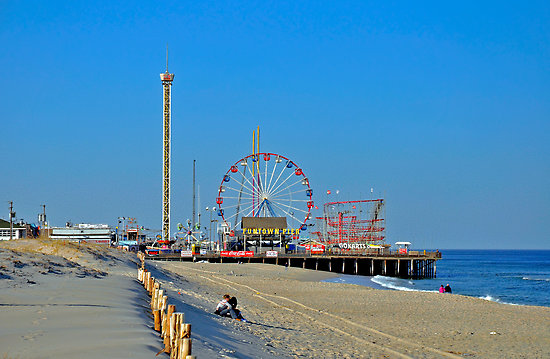 Seaside Heights New Jersey Beaches Attractions